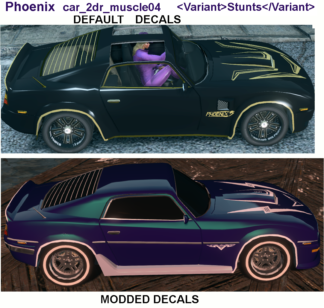 Phoenix Car Decal #RA86