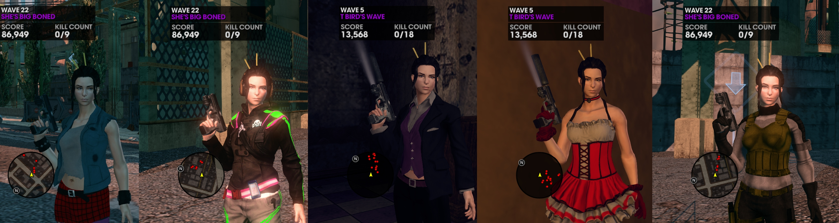 The saints row series is known for a lot of things, but memorable characters aren 2019t high on that list