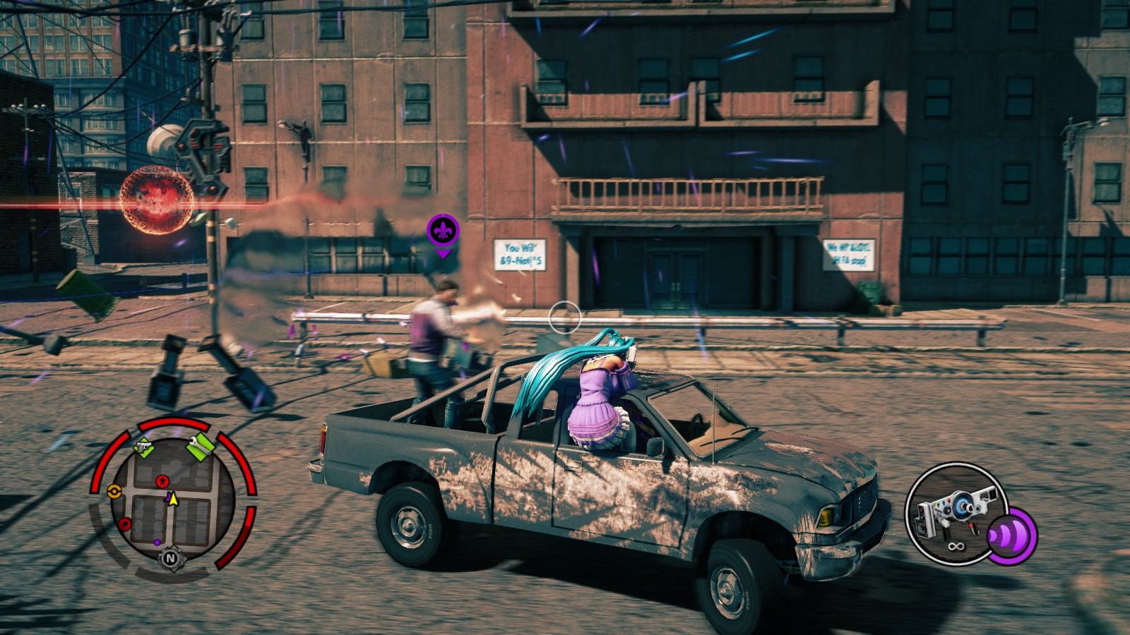 мод для saints row the third на жигули