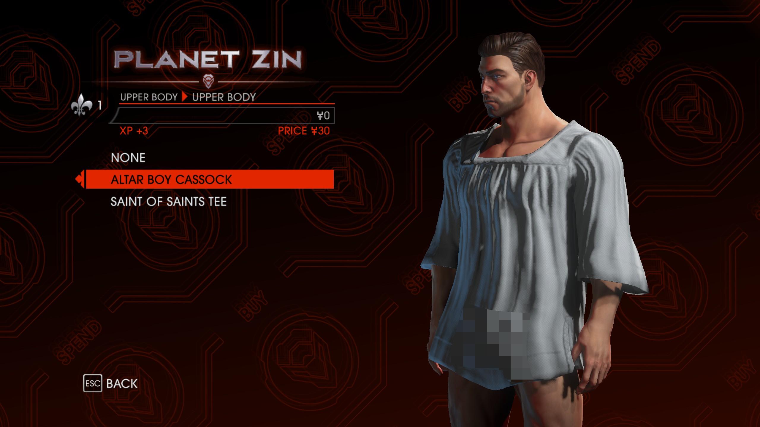 saint row 3 sexiest outfit