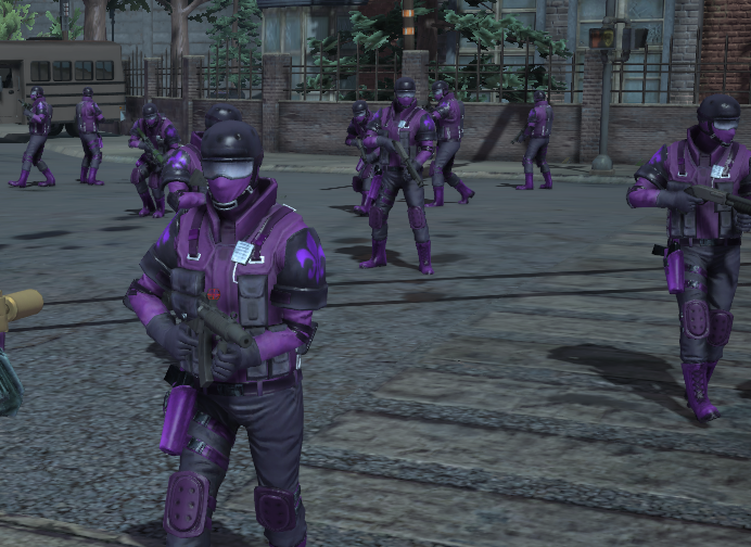 Saints Army (24 or 56 Gang members at once) | Saints Row Mods