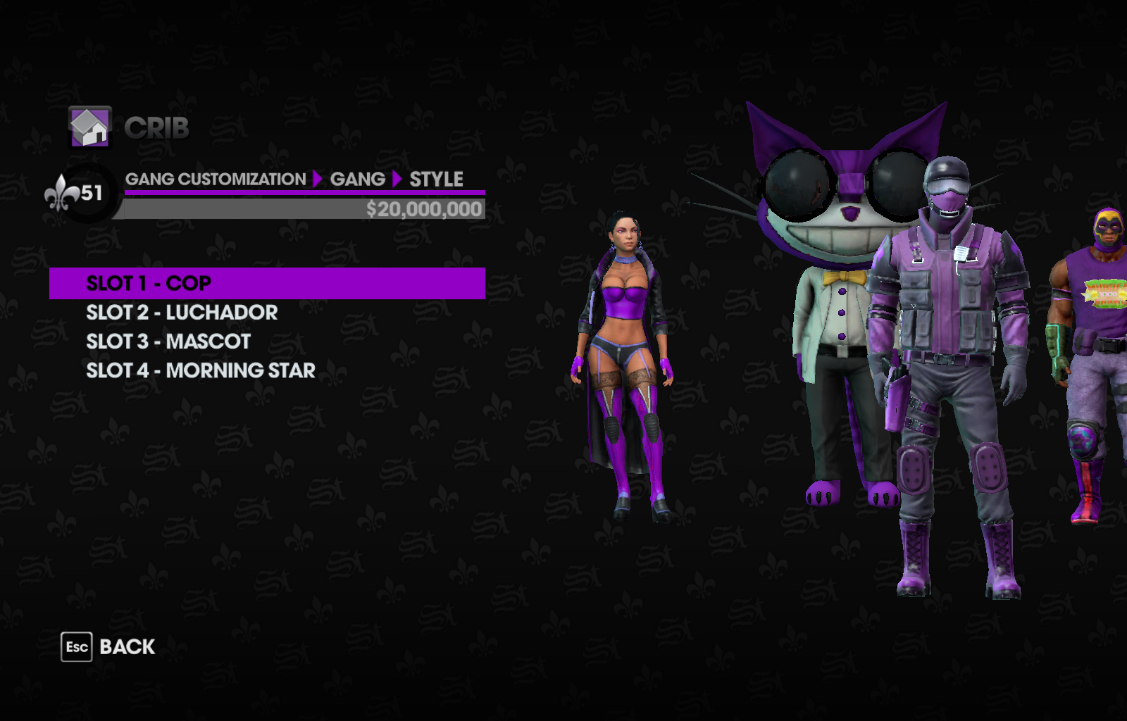 Original Colors for Gang Customization | Saints Row Mods