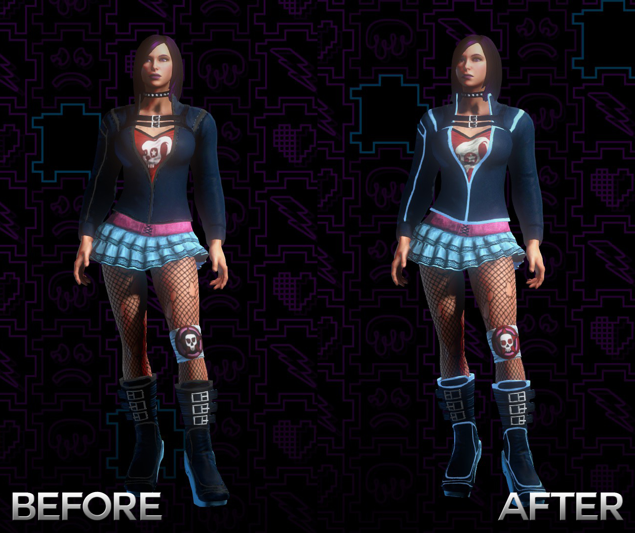 Bad Girl Outfit Saint Row 4 | Insured Fashion