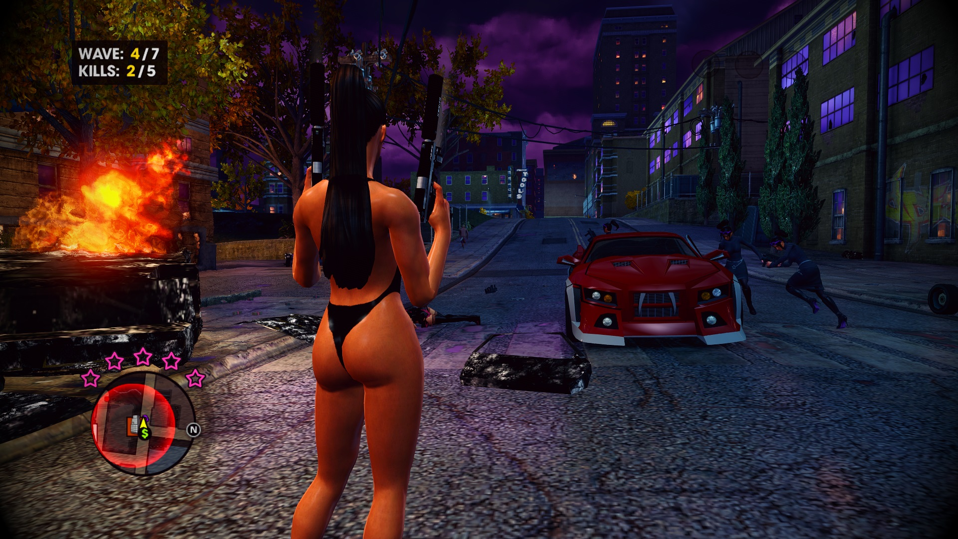 Saints Row The Third Nude Mod / Saints Row 3 [+18] Mod HD