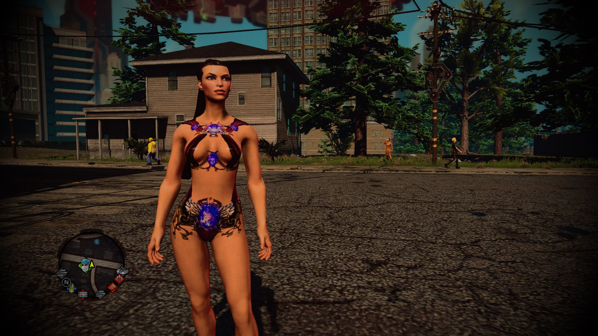 Saints row naked girls and boys