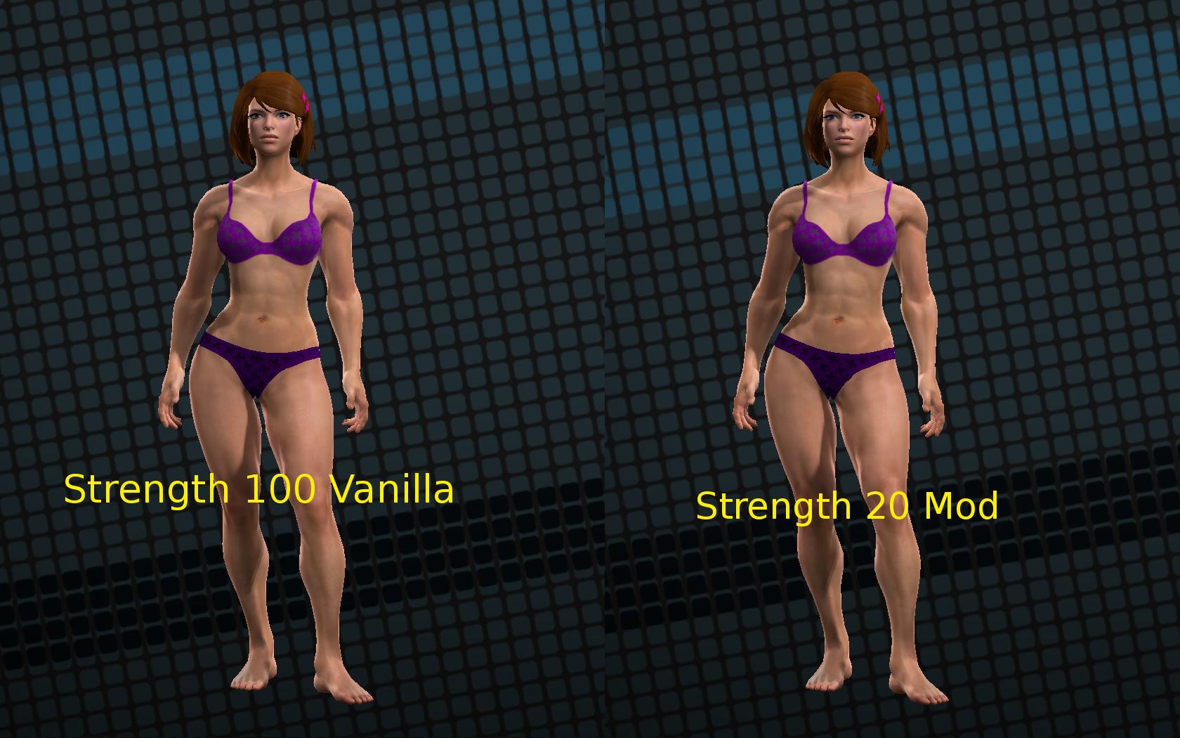 strength 100 vanilla vs strength 20 modded.png