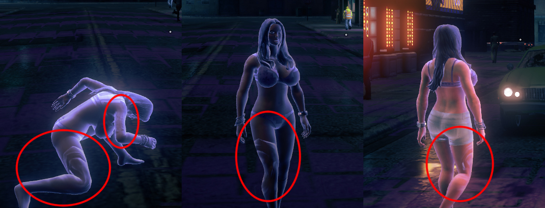 Naked girls in saint row iv Superpower Glowing On Naked Female Body Compromised Saints Row Mods